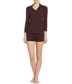 Betsey Johnson Shorty Pajamas #Dillards