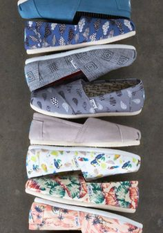 Slip into TOMS latest Classics and give back to those in need.