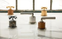 Henry Cylinders from Waterworks -  Ever since Bauhaus artists tackled the age-old dilemma of how to marry functional items with beautiful designs, many of our everyday objects have been less over-looked and more admired for the simple aesthetic that is modern design. Waterworks' new Henry collection does the same: connects art and industry with modern but classic new faucet cylinder options that are worthy of a second look.