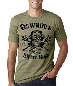 T-shirt: Divers Club