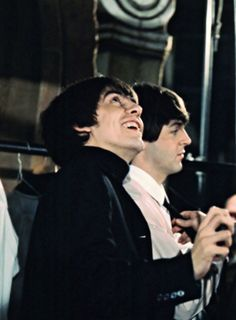 "we all ""look up"" to u George!  ♥♥♥♥George H. Harrison♥♥♥♥  ♥♥J. Paul McCartney♥♥"