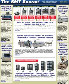 Check out Manncorp latest Newsletter highlighting our stencil printer, pick and place machines, HIGH-MIX HIGH-FLEXIBILITY SMT production line, dry cabinets and other SMT equipment.