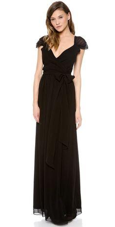 Joanna August Newbury Cap Sleeve Wrap Dress |SHOPBOP | Save up to 30% Use Code BIGEVENT14