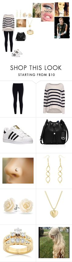 """At your boyfriend Luke's concert"" by becca-arceo ❤ liked on Polyvore featuring NIKE, Velvet by Graham & Spencer, adidas, MICHAEL Michael Kors, Bling Jewelry, Finn and Kobelli"