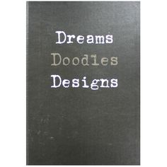 A4 Dreams Plain Notebook - Case Bound | Stationery - New In! at The Works