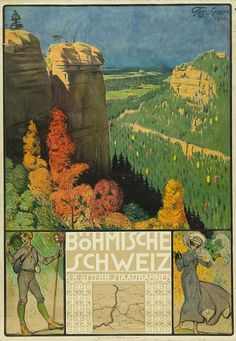 Nicholas and George Lowry have around 250 vintage Czech travel posters in their collection. Narrowing them down to decide what to include in an upcoming exhibit at the National Czech & Slovak Museum & Library wasn't easy. Travel Posters, Art Boards, Explore, Artist, Painting, Vintage, Infinite, Austria, Poster