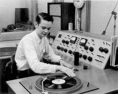 1950's Radio Station Studio by stevesobczuk, via Flickr