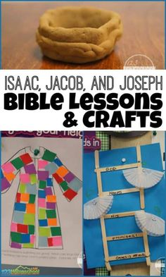 Clever ideas for teaching kids about Isaac, Jacob, and Joseph in your next sunday school lesson for grade students. Toddler Bible Lessons, Kids Church Lessons, Bible Object Lessons, Bible Lessons For Kids, Preschool Sunday School Lessons, Toddler Sunday School, Sunday School Crafts For Kids, Preschool Kindergarten, Toddler Church Crafts