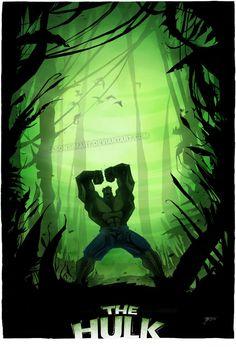 The Hulk by Jason Simard