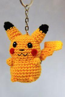 MadeByLeonie: Pikachu - Sleutelhanger