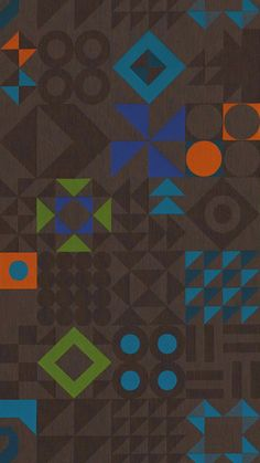 Bart Hess - Tangram textile in Lead (rotated view) for Maharam