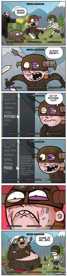 Skyrim Last Resort [Comic]