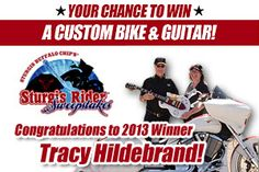 Sturgis Rider® Motorcycle Sweepstakes Registration – Enter for Your Chance to Win
