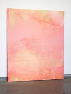 "Saatchi Art Artist Christian Hetzel; Painting, ""tender pink green"" #art"