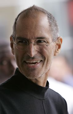 Steve jobs -famous people with dyslexia