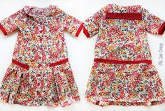 Love in paris Free dress sewing pattern 3t and 5t only
