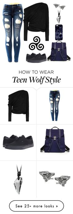 """Teen Wolf Inspired"" by lucy-wolf on Polyvore featuring Tom Ford, Vans, Journee Collection, Casetify and Proenza Schouler"