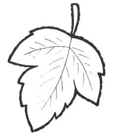 Printable Autumn Leaves Coloring Pages Free