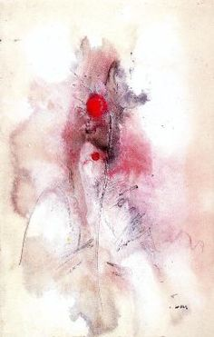 : Untitled Artist: Wols Style: Lyrical Abstraction Genre: abstract painting
