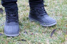 Sisustus COCO: CROCS - AllCast Duck Waterproof Boot. Waterproof Boots, Crocs, Squad, Combat Boots, Fashion, Gore Tex Boots, Moda, Combat Boot, Fashion Styles