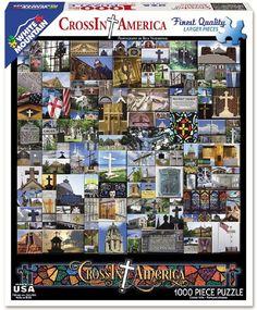 Cross In America - 1000 Piece Jigsaw Puzzle