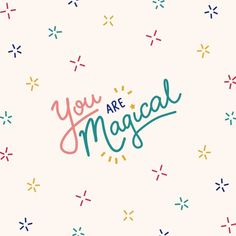 You are magical Make You Happy Quotes, Are You Happy, Just For You, Positive Words, Positive Quotes, Faith Quotes, Words Quotes, Routine Quotes, Magic Quotes