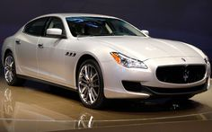 The 2014 Maserati Quattroporte - has it lost just a touch of it's former elegance? [Photo: Paul Sancya/AP]