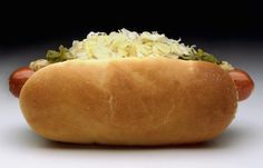 This is a great topping for those who love sauerkraut on their hot dogs. By mixing these ingredients together you get a great way to finish off a hot dog.