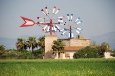 Wind and Water Mills #Mallorca. Spain