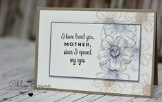 Happy Mother's Day - First Sight, Flower Shop, Chlo's Craft Closet, Stampin Up,