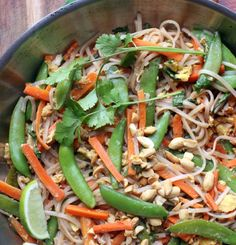 Weeknight Pad Thai for kids with or without peanuts   Hellobee