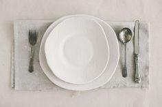 handmade studio dinner plates