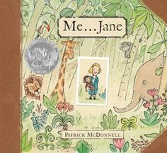 DELIGHTFUL! : In his characteristic heartwarming style, Patrick McDonnell (Artist of MUTTS Comics) tells the story of the young Jane Goodall and her special childhood toy chimpanzee named Jubilee.
