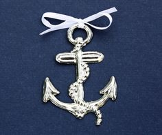 Anchor Pewter Ornament by kspewter on Etsy