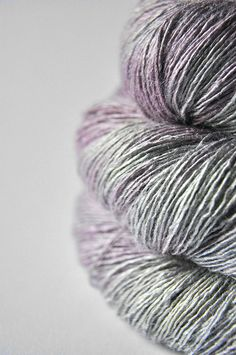 Drunken water fairies OOAK - Tussah Silk Yarn Lace weight ~ Dye For Yarn