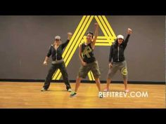 "REFIT Dance Fitness-""Give A Little More"" Maroon 5 - YouTube, 2 min. 45 sec., fun!"
