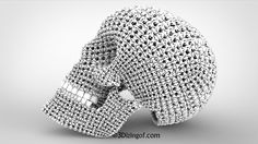3D Printable Skulls Currently 6 different Skull designs (STL files) are offered for download for your 3d Printer. 1st one is the Voronoi Skull designed in 2011 with Voronoi structures and a touch of organic look. 2nd one is the Cellular Skull – a process that engulfs a design with unique looking Cells.  3rd …