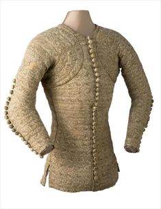 c. 1350 Doublet of Charles de Blois. Around middle of 14th century. Click through to second page of search box to see doublet.