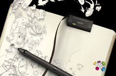 Inkling by Wacom - Draw anywhere and have it automatically transfered to vector Photoshop/Illustrator files. Want Want Want!!!