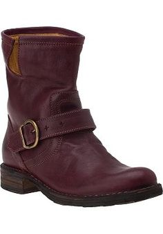 ELI Boot in Plum Leather