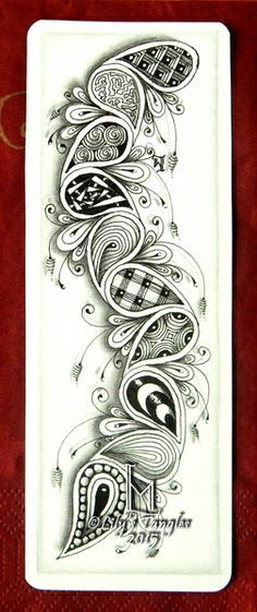 Zentangle & Doodles on Pinterest | Tangle Patterns, Zentangle and Zentangle Patterns