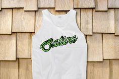 Sativa Marijuana Trippy Sleeveless Tank For by StonerMotivation