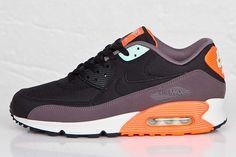 2be2e93a9a Nike Air Max 90 Essential (Black/Hyper Crimson) - Sneaker Freaker