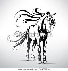 Horse Line Fotografie, snímky a obrázky   Shutterstock