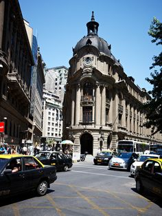 Bellas Artes, el centro neurálgico de Santiago de Chile