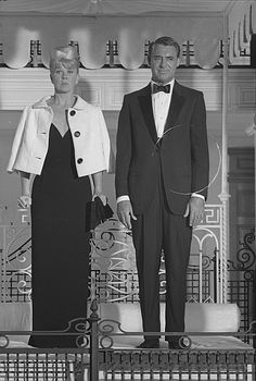 Doris Day and Cary Grant during the filming of 'That Touch of Mink' July 1961. Photo by Milton Greene