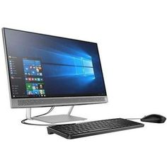 A HP Pavilion 27-A127C X6F82AA All-in-One Desktop PC - Intel Core i7-6700T 2.8 GHz Quad-Core Processor - 16 GB DDR4 SDRAM - 1 TB Hard Disk Drive - 27-inch WLED Touchscreen Display - Windows 10 Home 64-bit