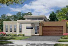 single story modern house plans - Google Search