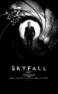 Teaser poster de #Skyfall. Vuelve Bond