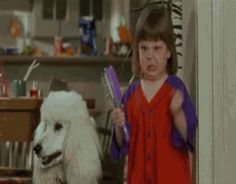 Hairbrush Girl | 32 GIFs Guaranteed To Make You Laugh Every Time